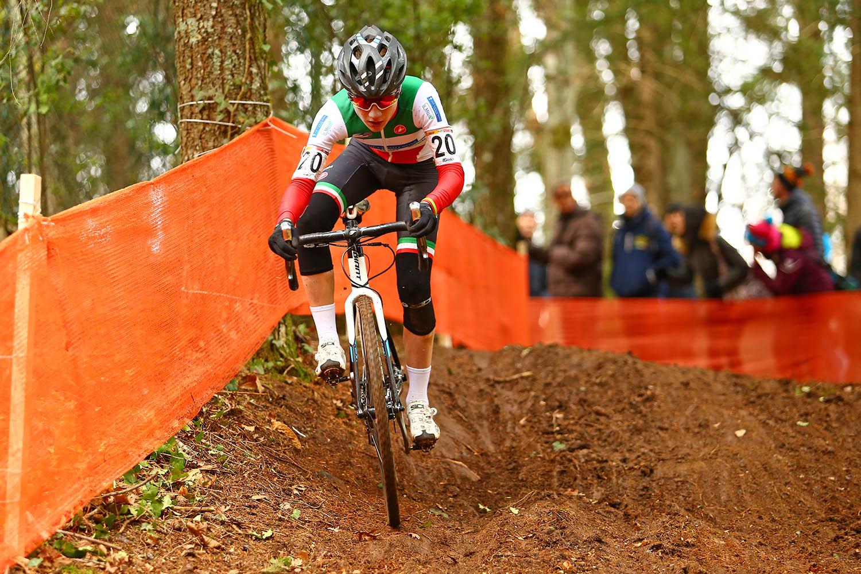 Il campione italiano Filippo Fontana in azione a Fiuggi