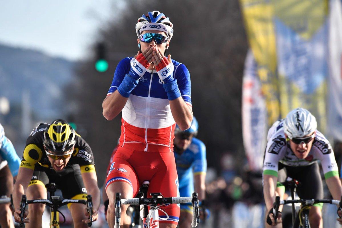 Il campione francese Arthur Vichot vince il Grand Prix Cycliste la Marseillaise 2017