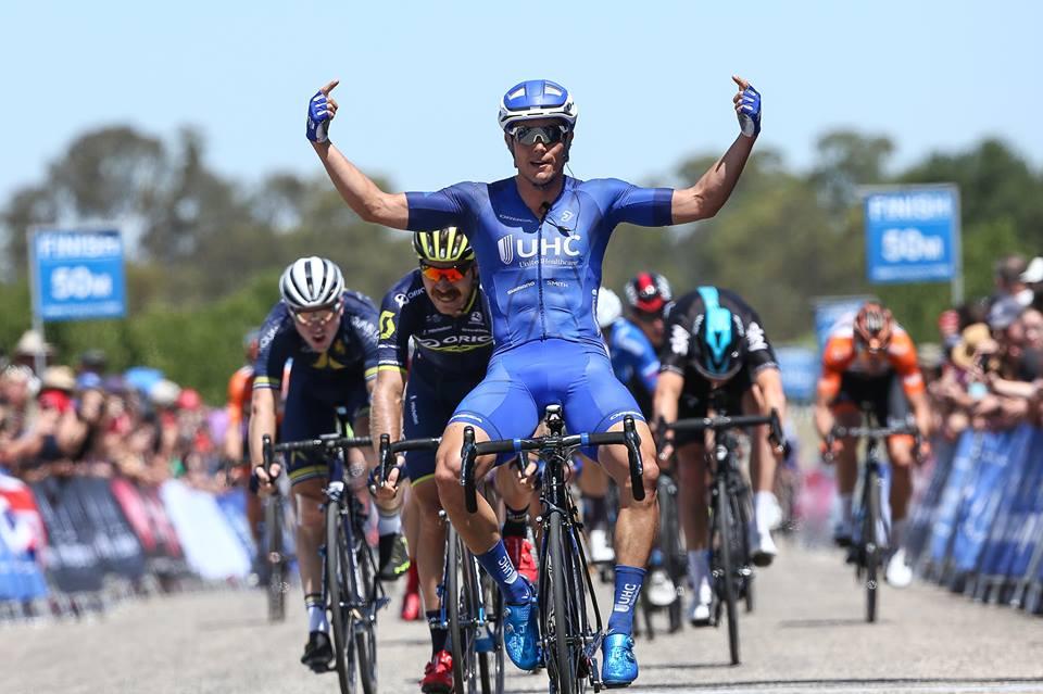 Travis McCabe vince la terza tappa dell'Herald Sun Tour 2017