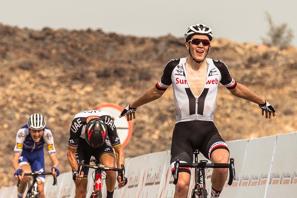 Søren Kragh Andersen vince la terza tappa del Tour of Oman