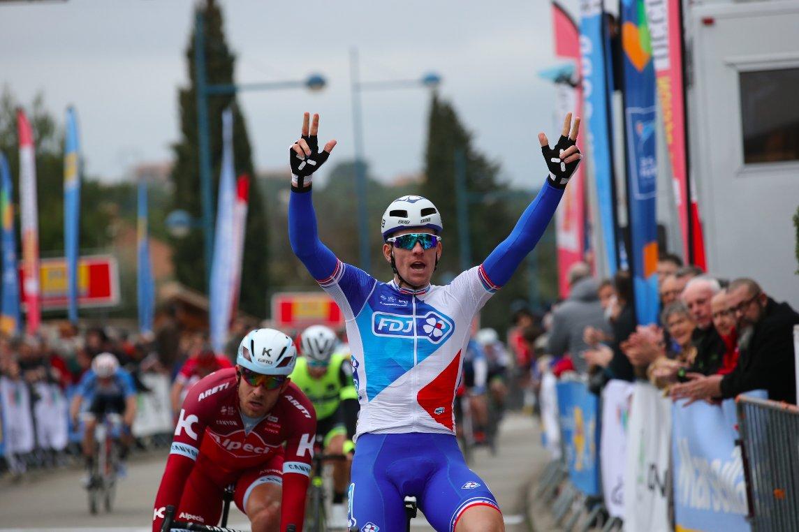 Arnaud Demare vince la prima tappa dell'Etolie de Besseges