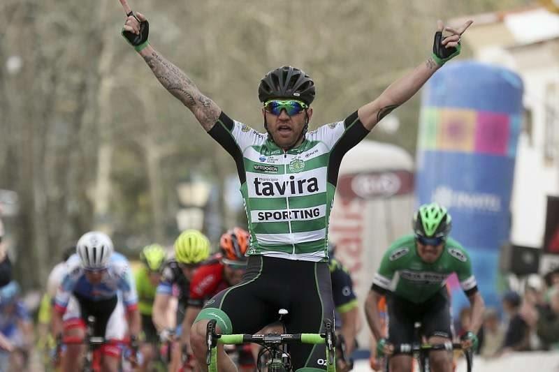 Rinaldo Nocentini vine la prima tappa della Volta ao Alentejo 2017