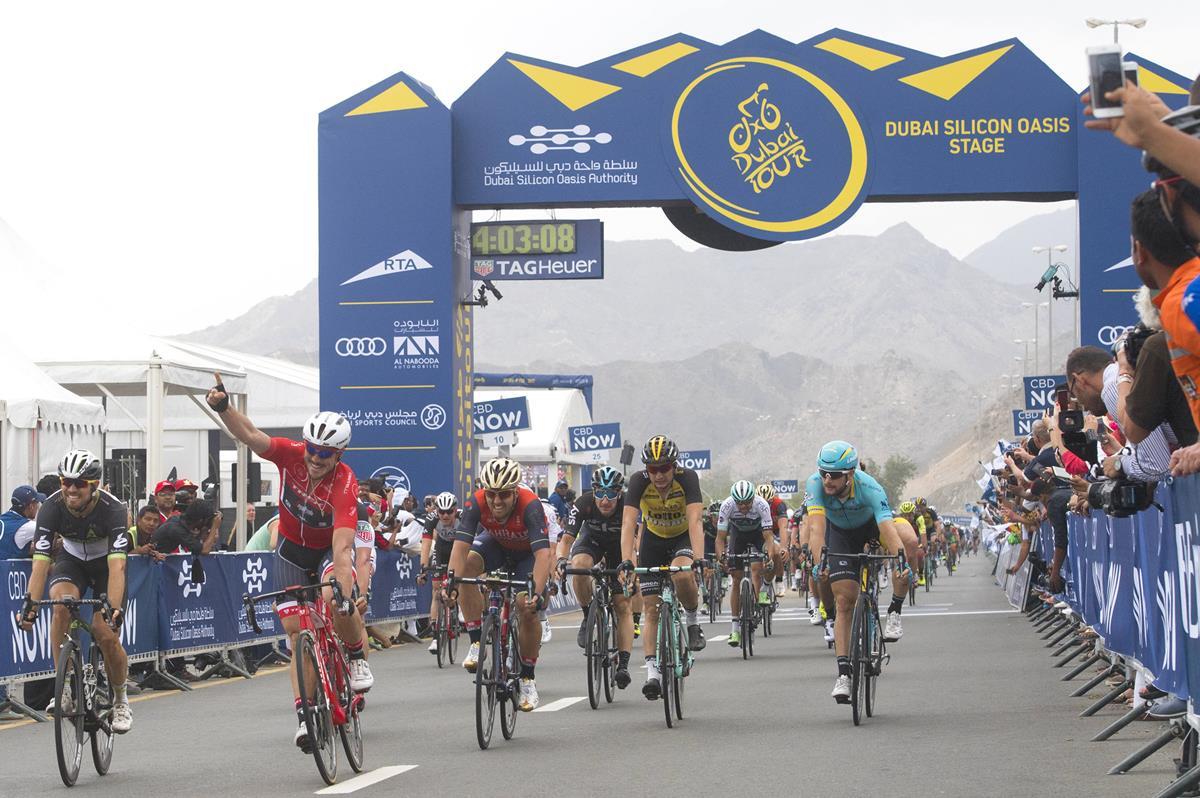 John Degenkolb vince la terza tappa del Dubai Tour 2017