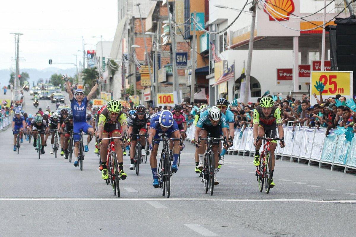 Travis McCabe vince la seconda tappa del Tour de Langkawi 2017