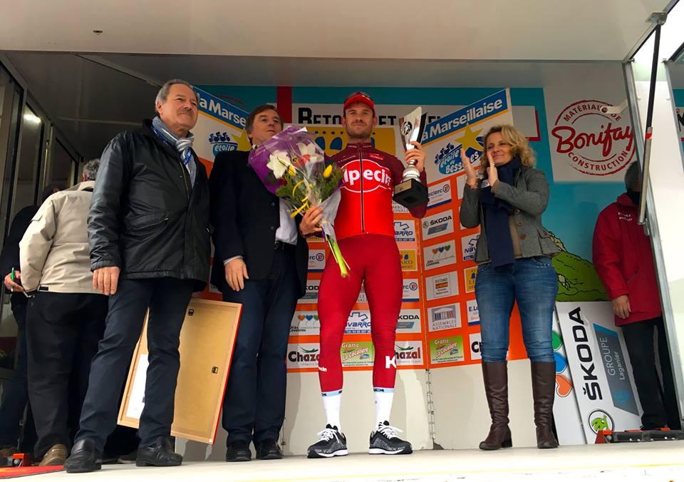 Alexander Kristoff vincitore della seconda tappa della Etoile de Besseges 2017