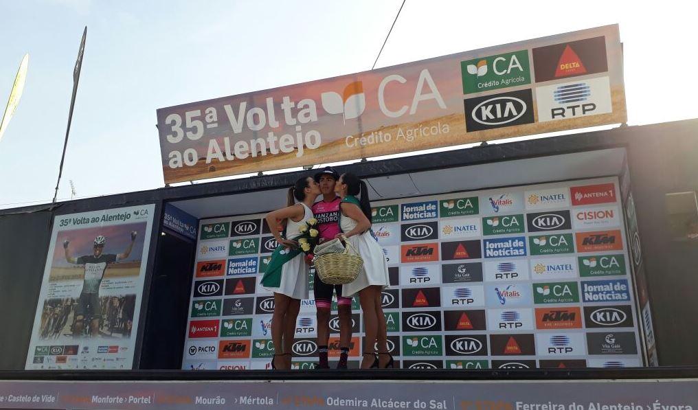 Juan Sebastian Molano vincitore della terza tappa della Volta ao Alentejo
