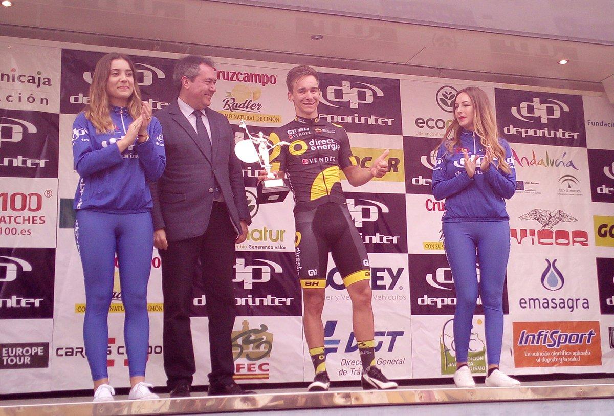 Bryan Coquard vincitore della quarta tappa della Vuelta a Andalucia