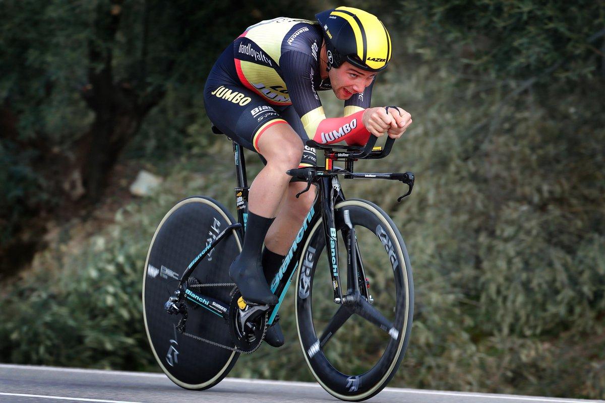 Victor Campenaerts vince la terza tappa a cronometro della Vuelta a Andalucia 2017