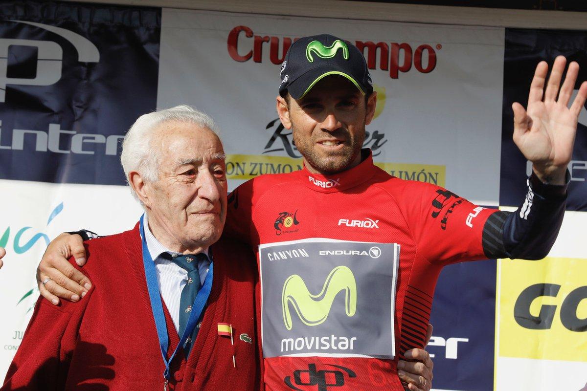 Alejandro Valverde torna leader della Vuelta a Andalucia 2017