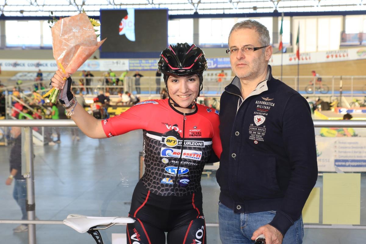 Chiara Cavallini vince l'Omnium Donne Allieve