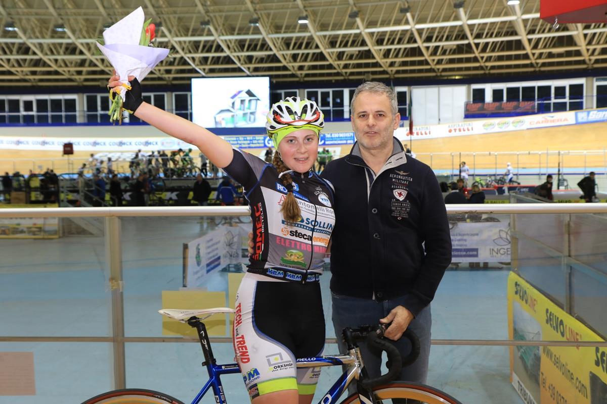 Anastasia Carbonari vince l'Omnium Donne Open