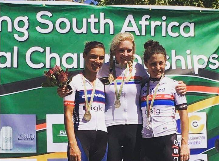 Heidi Dalton del Team Aromitalia - Vaiano - Fondriest vince il titolo Sudafricano su strada Donne Elite