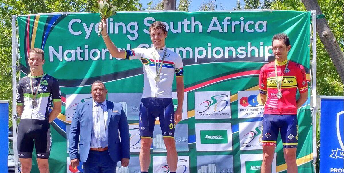 Daryl Impey campione sudafricano a cronometro Professionisti 2017