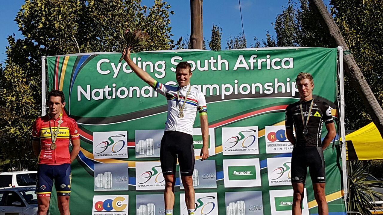 Reinardt Janse van Rensburg campione del Sudafrica su strada 2017