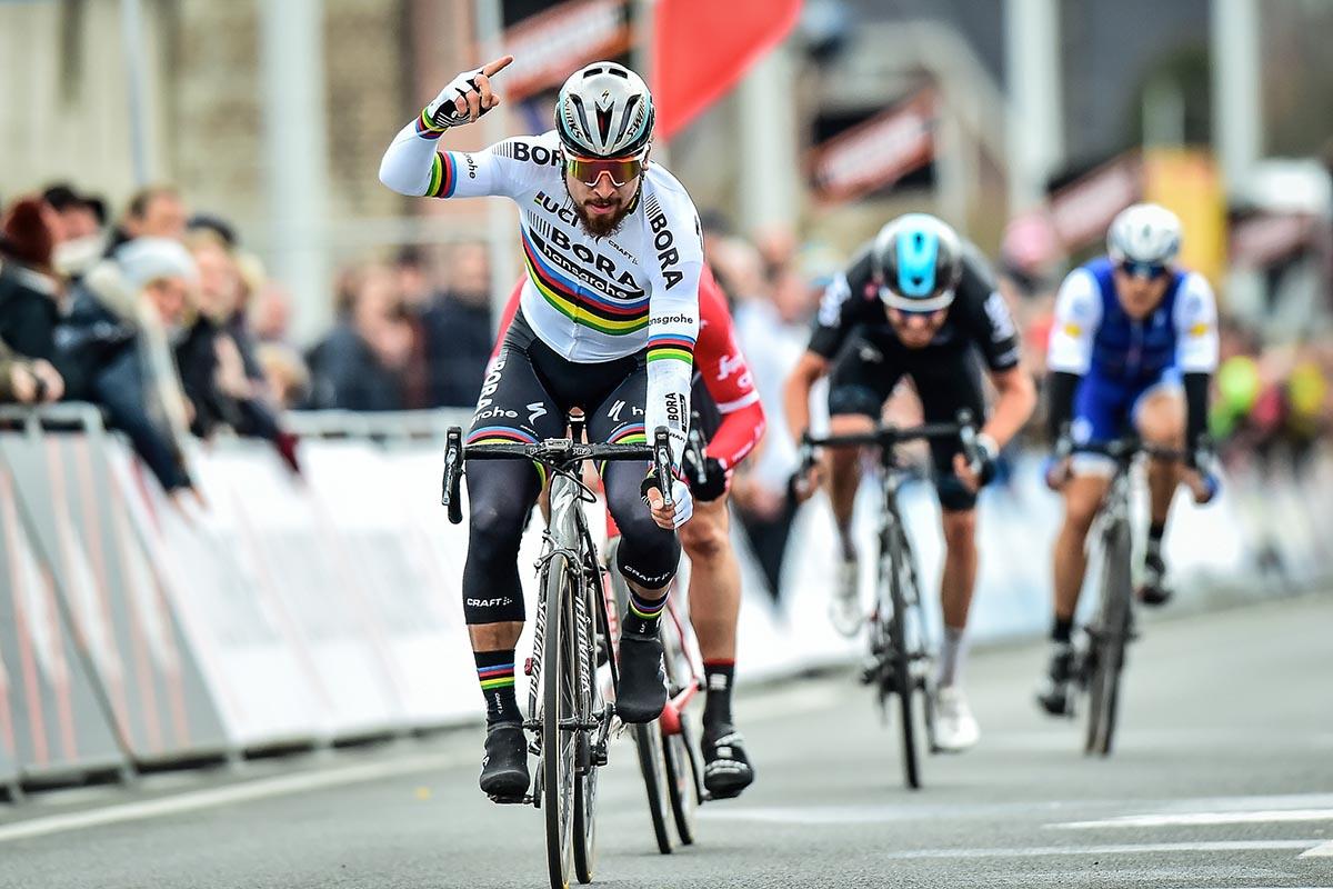 Peter Sagan vince la Kuurne-Brussel-Kuurne 2017