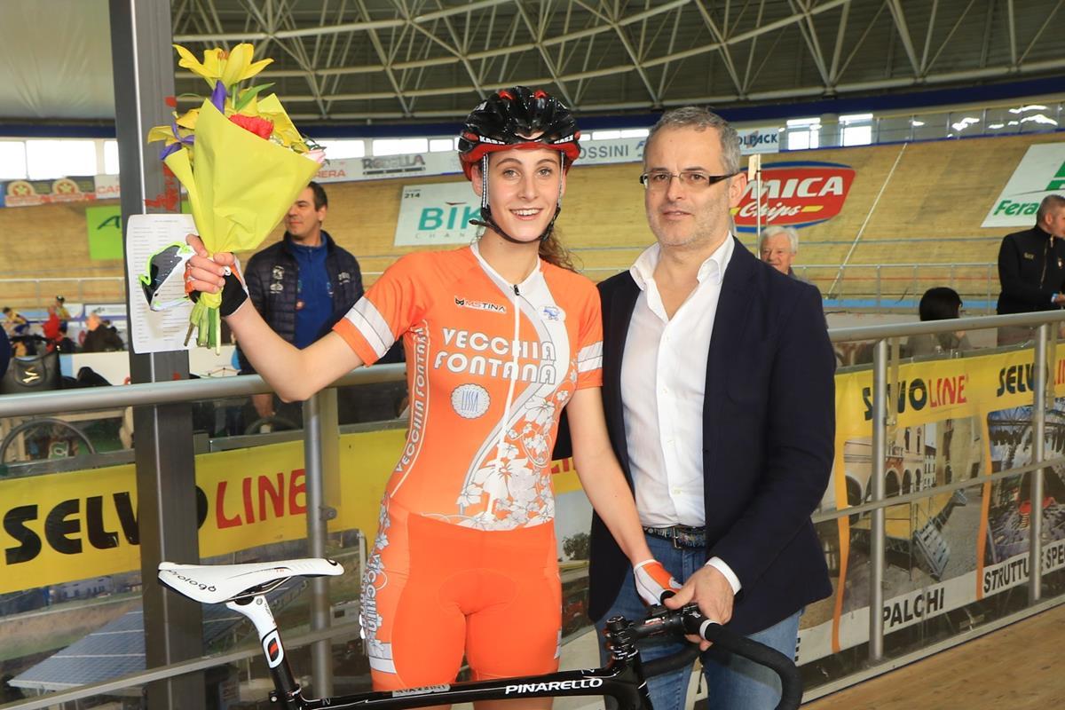 Vittoria Guazzini vince l'Omnium Donne Junior