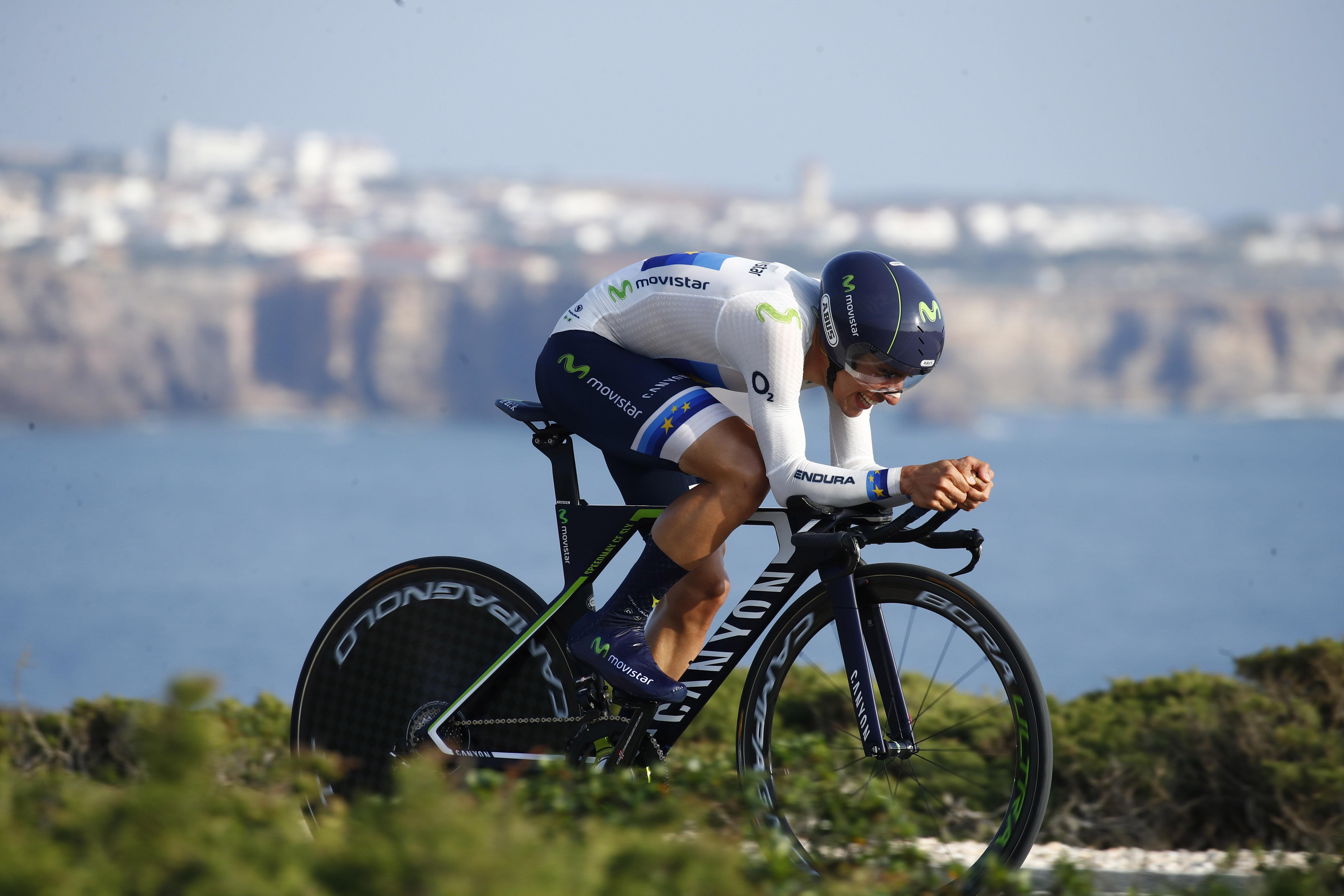 Il campione europeo Jonathan Castroviejo vince la cronometro della Volta ao Algarve (foto BettiniPhoto)