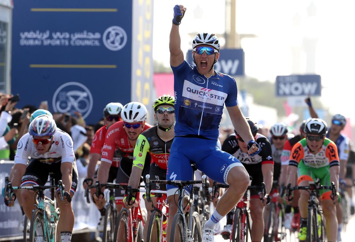 Marcel Kittel vince anche la seconda tappa del Dubai Tour 2017