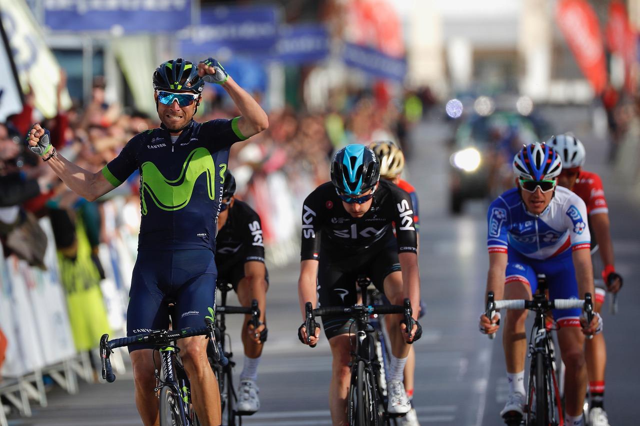Alejandro Valverde vince la prima tappa della Vuelta a Andalucia