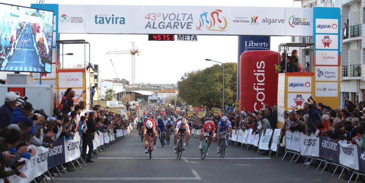 La vittoria di André Greipel nella quarta tappa della Volta ao Algarve