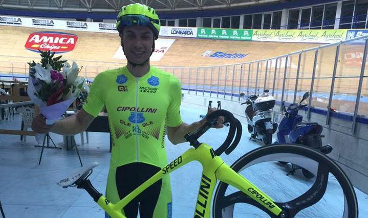 Stefano Ippolito ha vinto l'Omnium Open