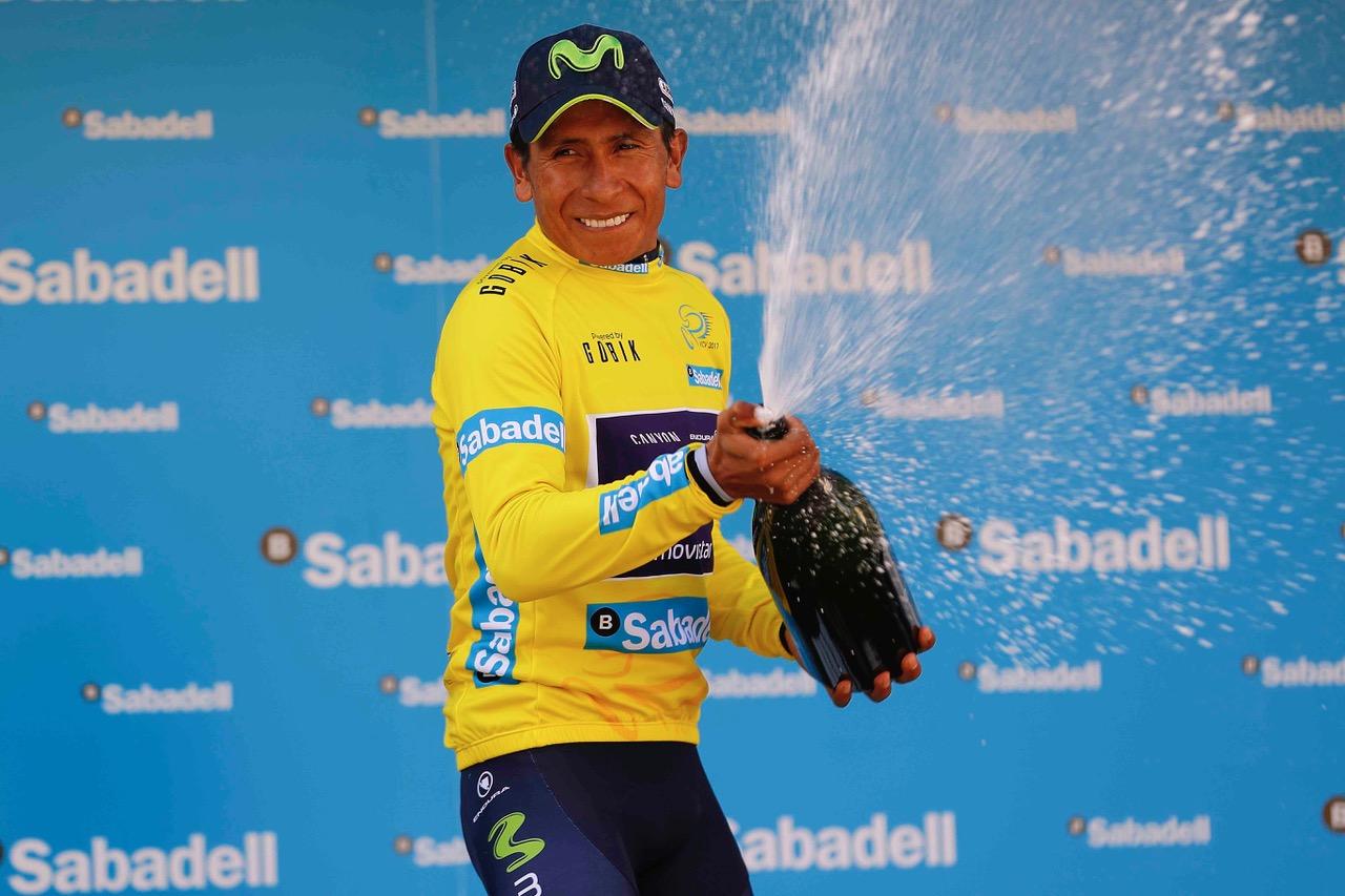 Nairo Quintana vincitore della Volta a la Comunitat Valenciana 2017