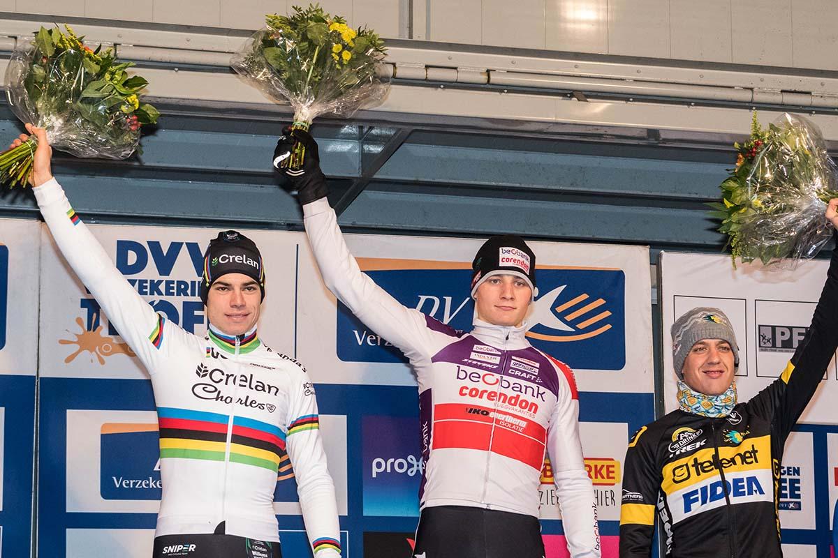 Il podio Elite di Lille