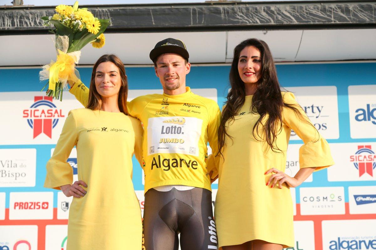 Primoz Roglic vincitore della Volta ao Algarve 2017