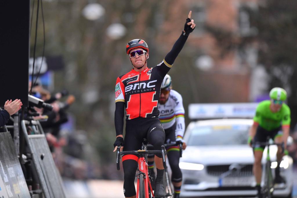 La vittoria di Greg Van Avermaet alla Omloop Het Nieuwsblad 2017