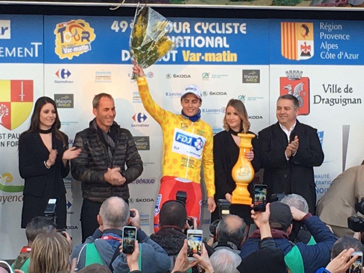Arthur Vichot vince la classifica finale del Tour du Haut Var-matin