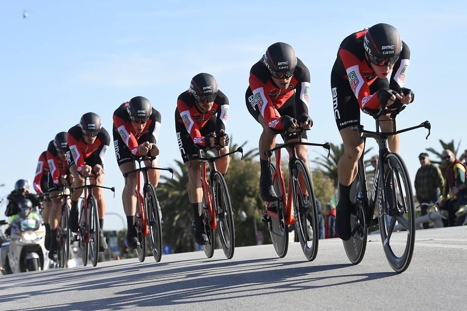 La BMC Racing Team vince la cronosquadre che ha aperto la Tirreno-Adriatico 2017