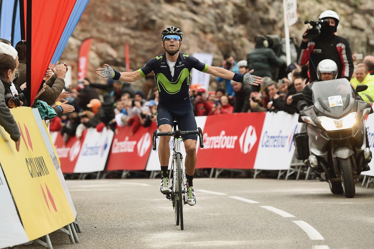 Alejandro Valverde vince la quinta tappa della Volta a Catalunya 2017