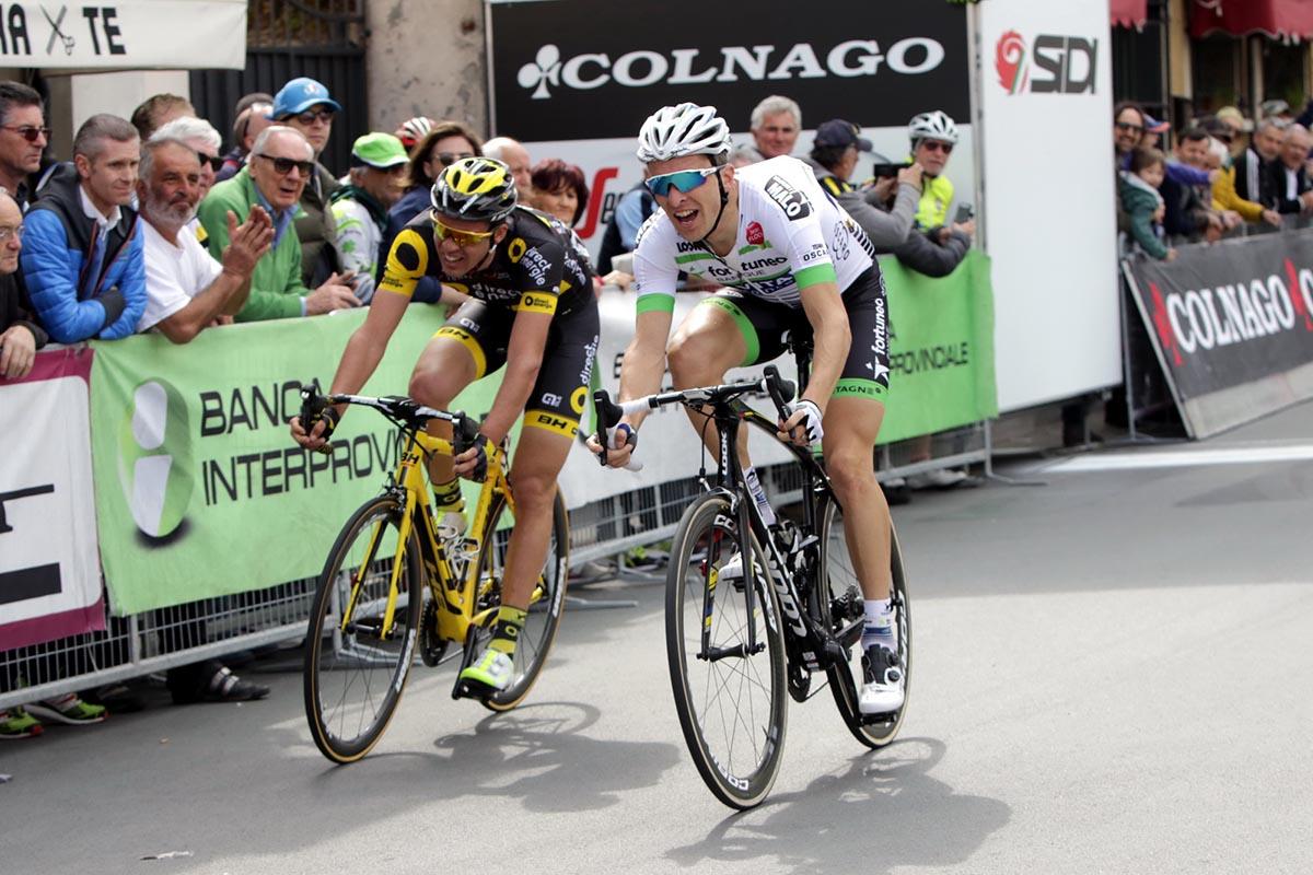 Laurent Pichon vince a Gatteo la prima semitappa della Settimana Coppi e Bartali 2017