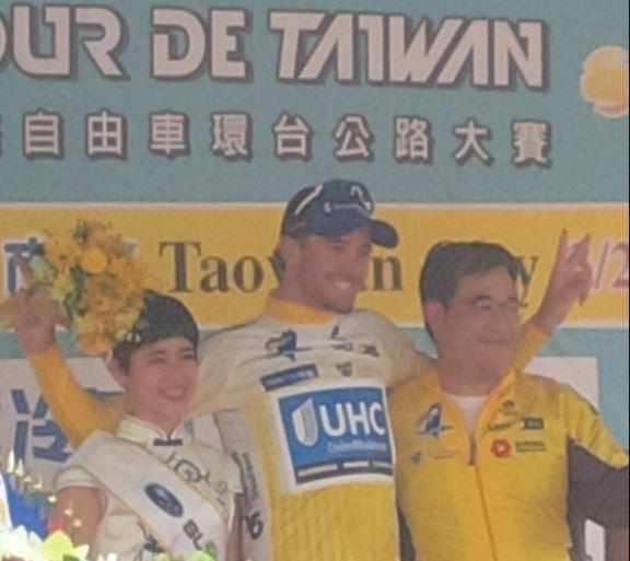 Daniel Summerhill nuovo leader del Tour de Taiwan 2017