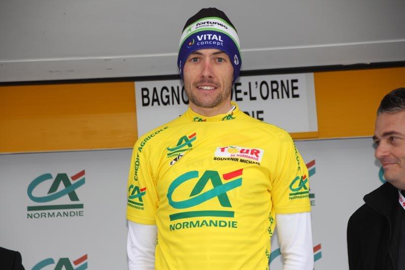 Anthony Delaplace, vincitore del Tour de Normandie 2017