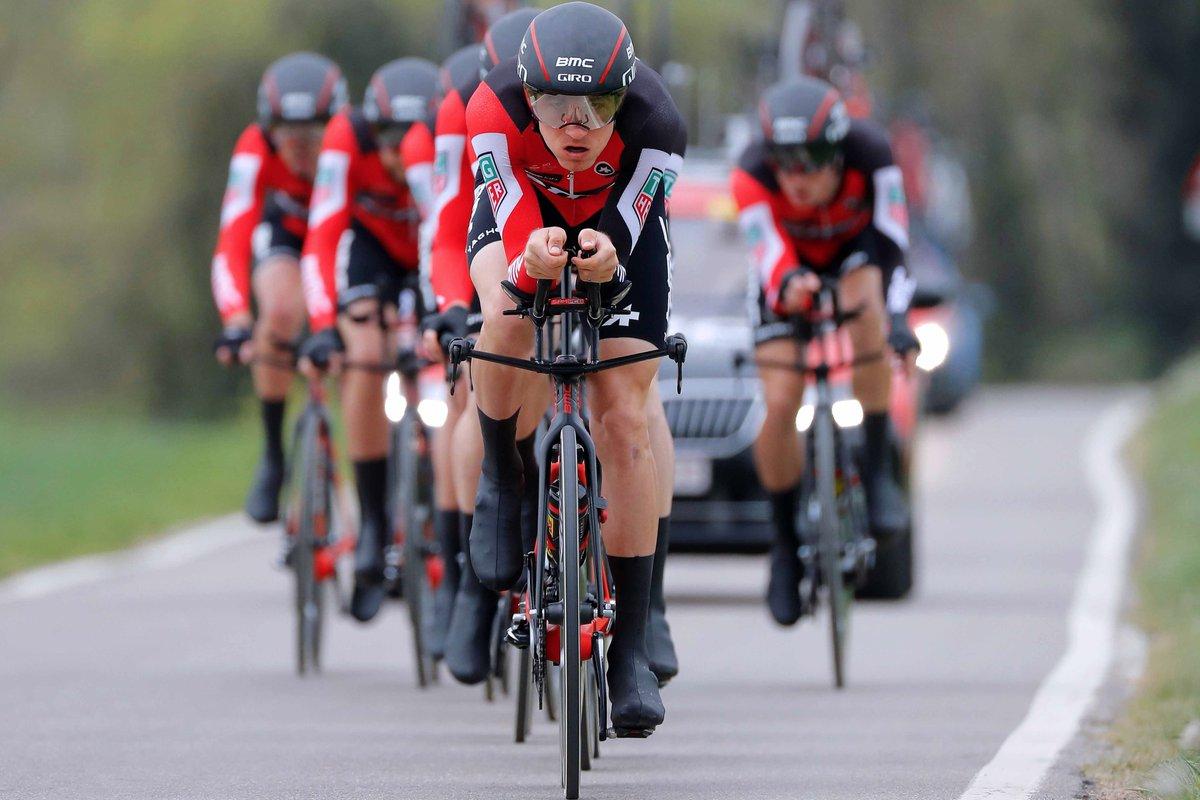 Dopo la penalizzazione inflitta dalla giuria alla Movistar, è la BMC Racing a vincere la cronosquadre della Volta a Catalunya 2017