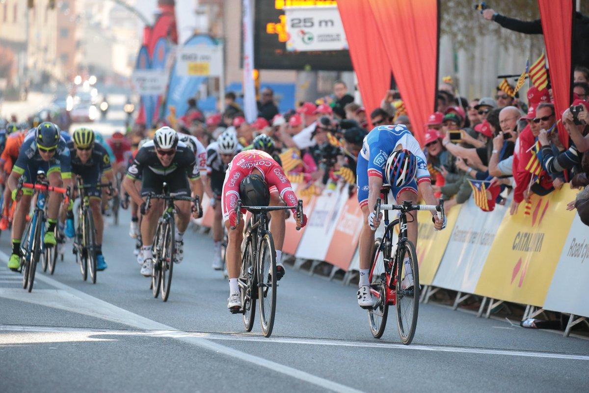 Cimolai batte Bouhanni nella prima tappa della Volta a Catalunya