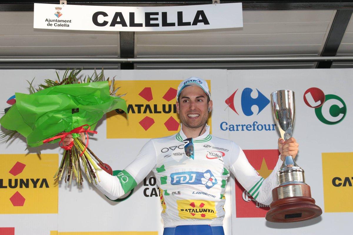 Davide Cimolai primo leader della Volta a Catalunya 2017