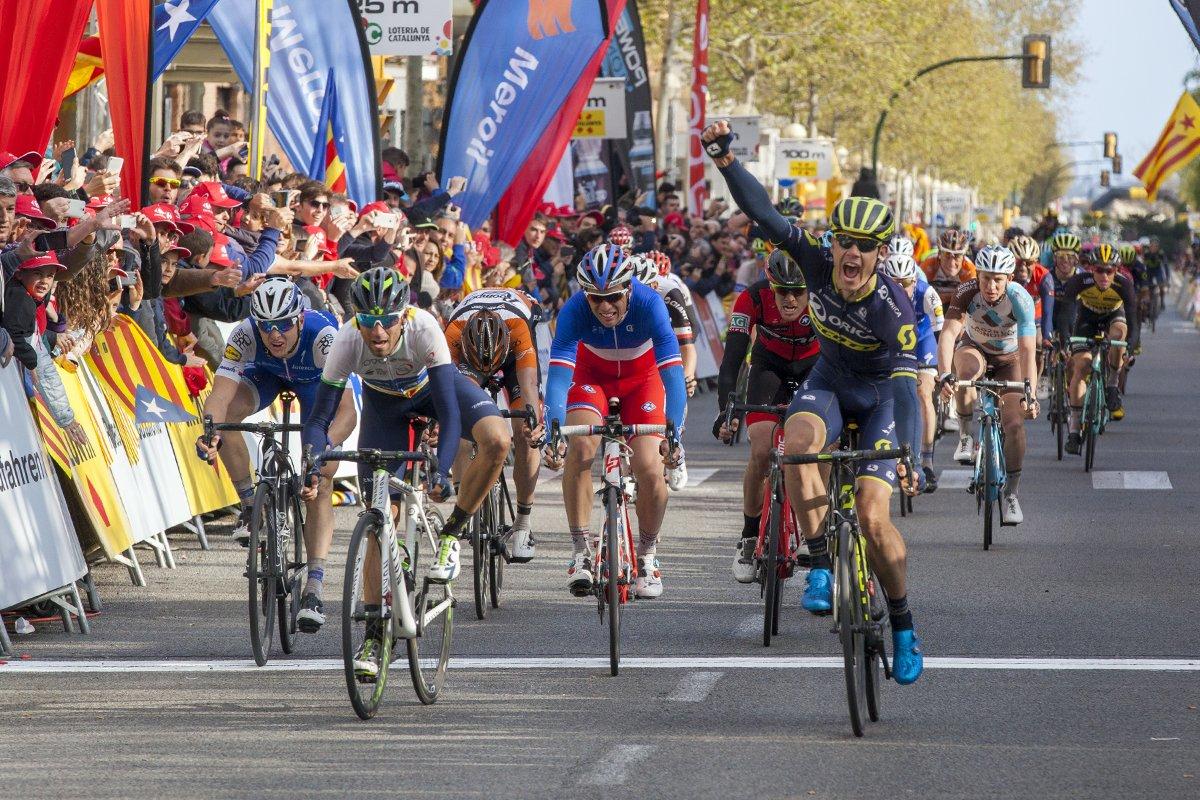 Daryl Impey vince la sesta tappa della Volta a Catalunya