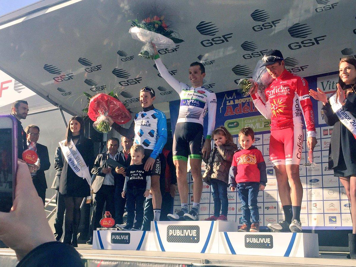 Laurent Pichon vince la Route Adélie de Vitré - Vitré 2017