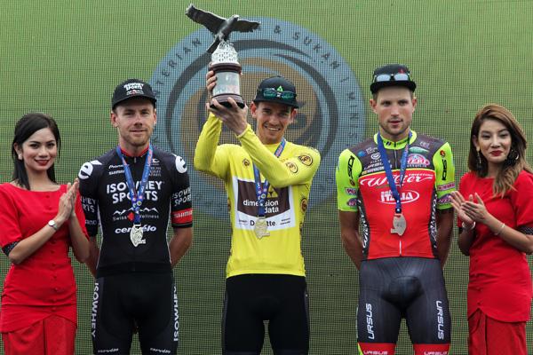 Ryan Gibbons vincitore del Tour de Langkawi 2017