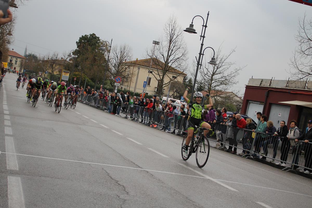 La vittoria di Alessandra Grillo a Montecchio Precalcino