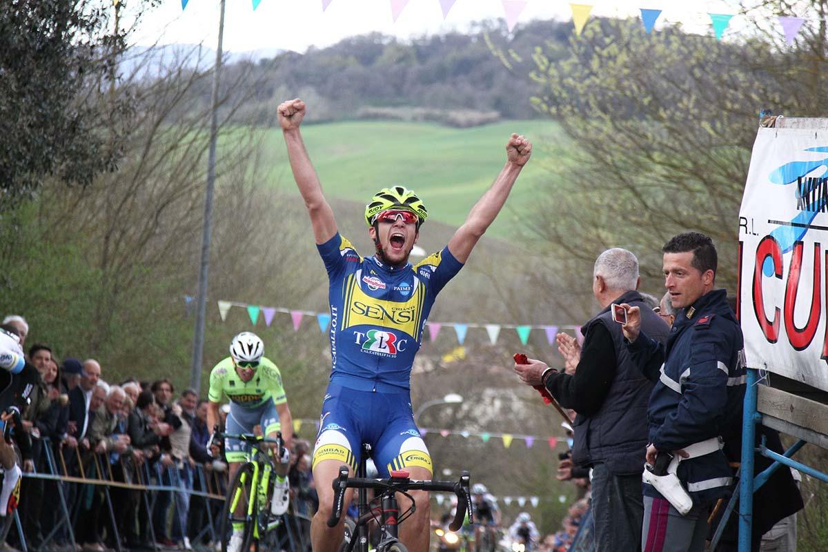 Michele Corradini vince la 39/a Coppa del Grano