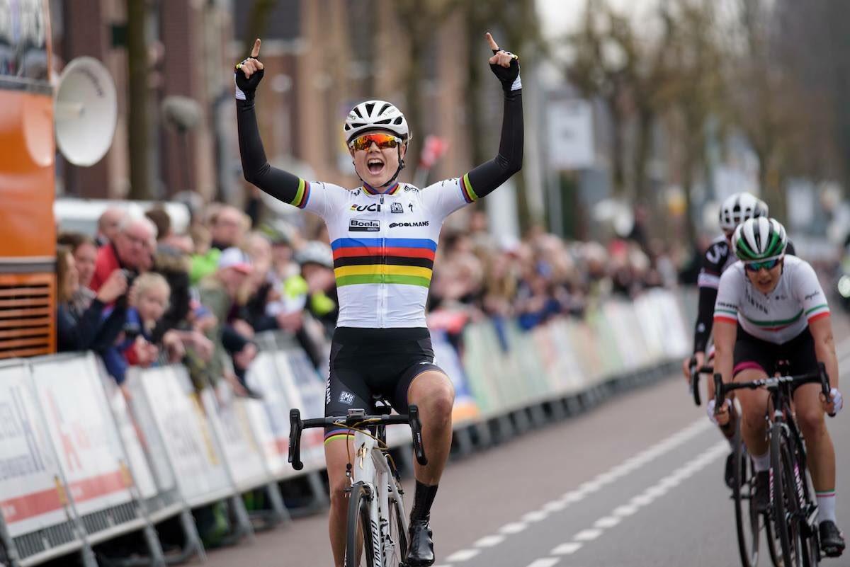 L'iridata Amalie Dideriksen vine la Ronde van Drenthe al femminile
