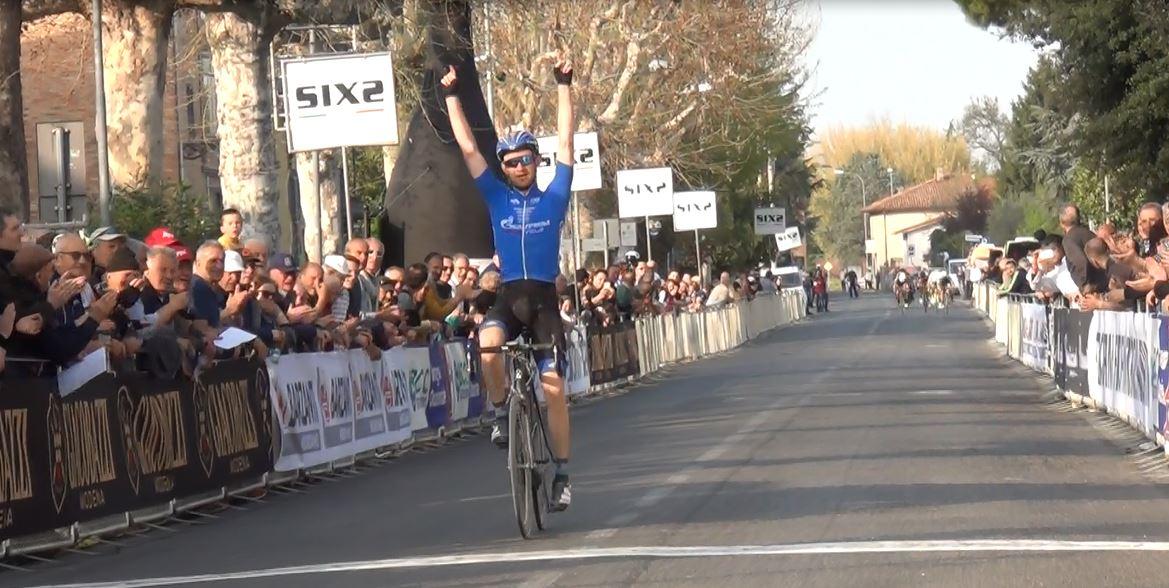 Il russo Roman Kustadinchev vince la Strade Bianche di Romagna 2017