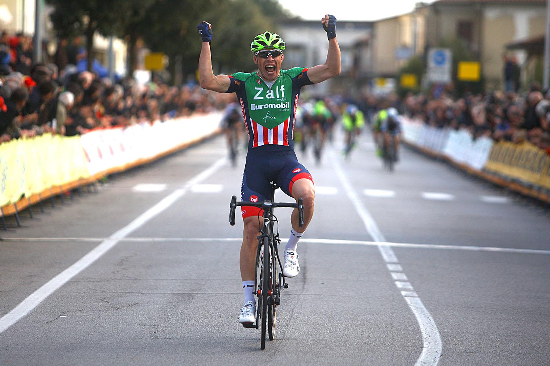 La vittoria di Simone Bevilacqua a Mereno di Piave