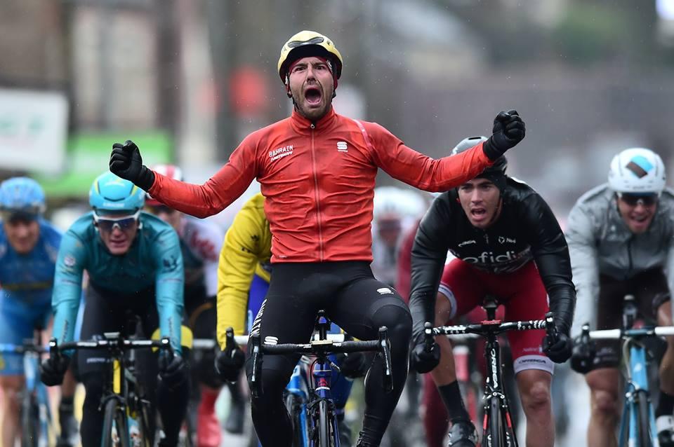Sonny Colbrelli vince la seconda tappa della Parigi-Nizza 2017
