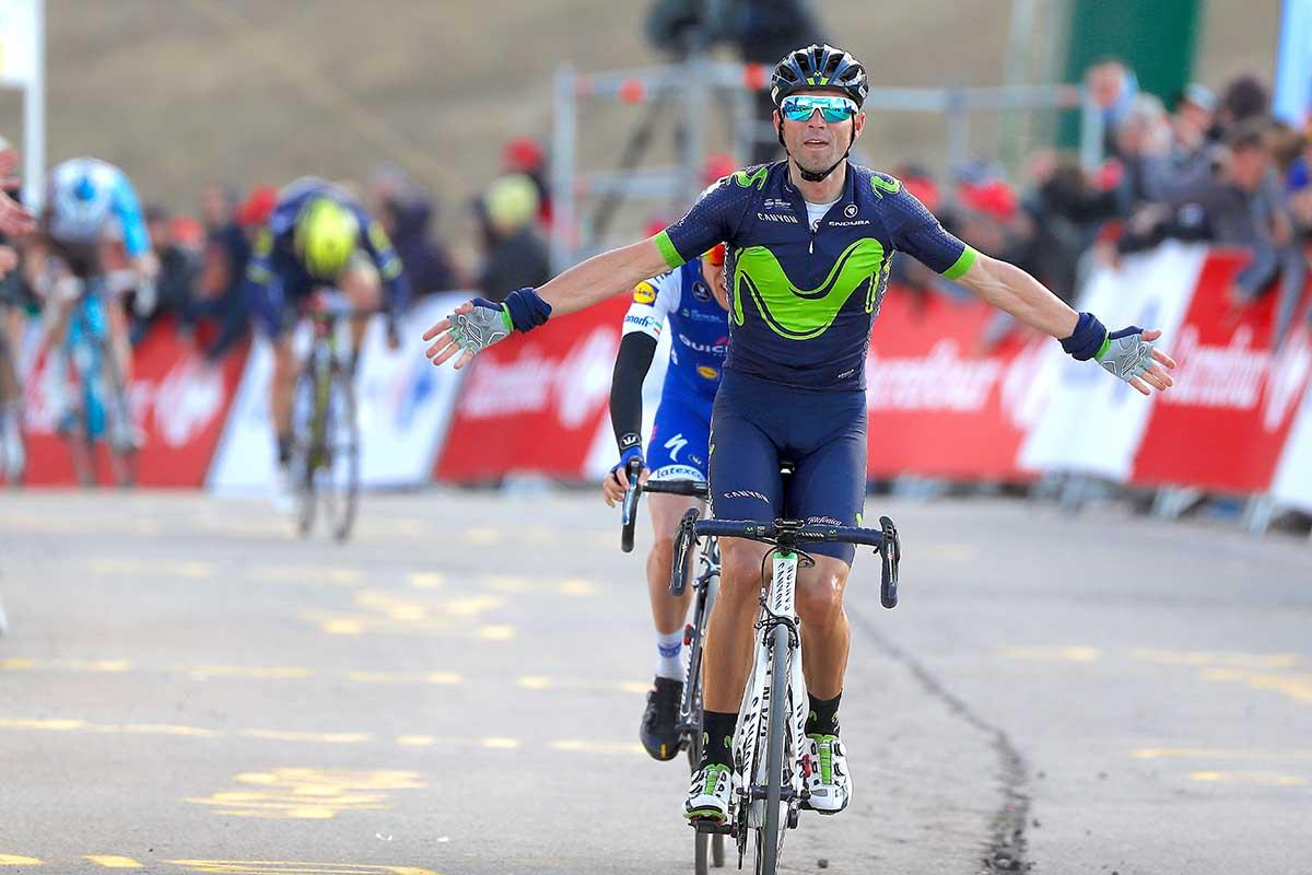 Alejandro Valverde vince la terza tappa della Volta Catalunya 2017