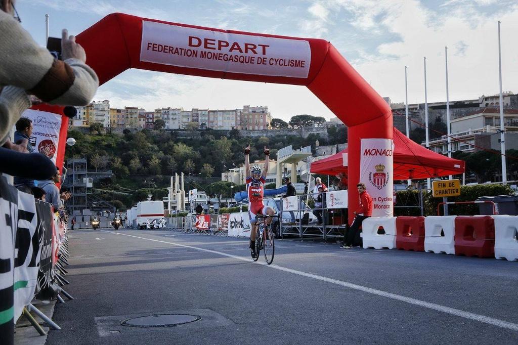 Leonardo Tortomasi ha vinto Critérium de Monaco