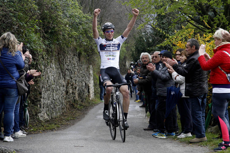 Giulio Masotto vince il Trofeo Comune di Gussago 2017 (foto Scanferla)